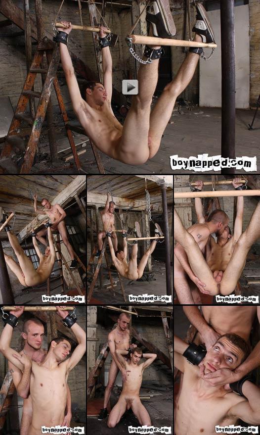 twink bondage dungeon fucking