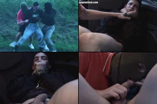 twinky chav snatched off the road by perverted kidnappers