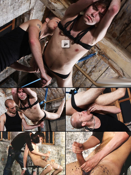 huge dick twink gets abused in the dungeon